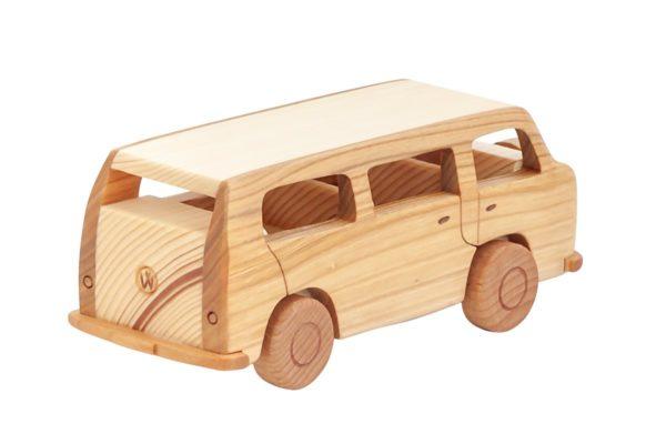 """Samochód z drewna """"Volkswagen T2"""""""