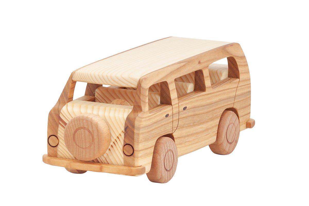 "Samochód zdrewna ""Volkswagen T2"""