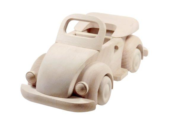 Kabriolet, samochód z drewna