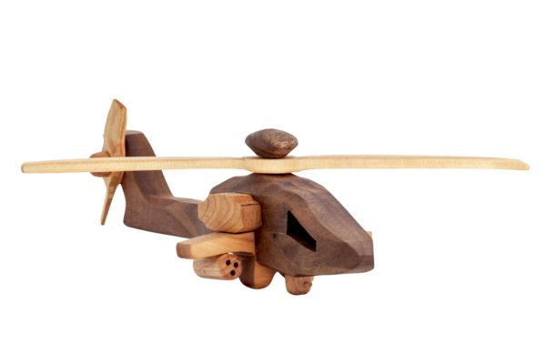 "Helikopter z drewna ""AH-64"""