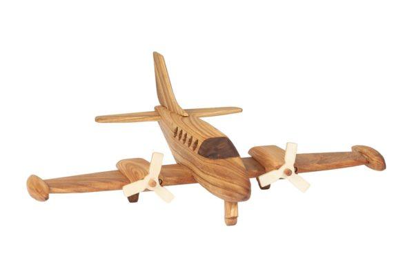Samolot z drewna Cessna 411