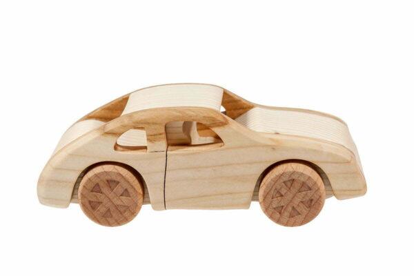 "Autko z drewna ""Porsche 911"""