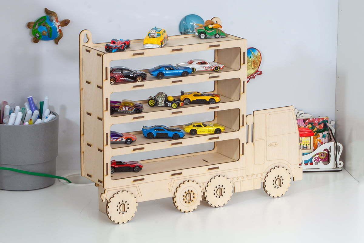 Ciężarówka, półka nasamochodziki
