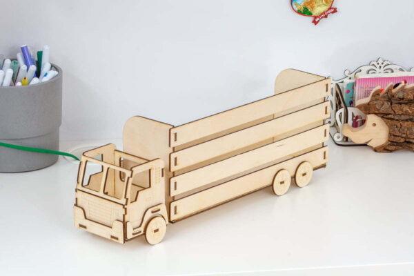 Ciężarówka, skrzynka na drobiazgi