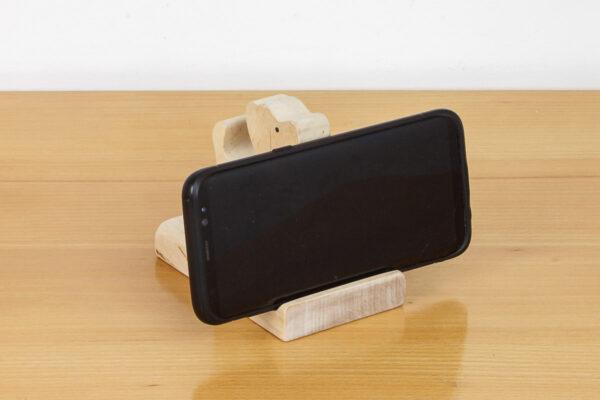 Podstawka pod telefon z figurką pieska