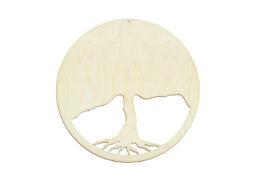 Drzewo, ozdobny panel pod mech chrobotek