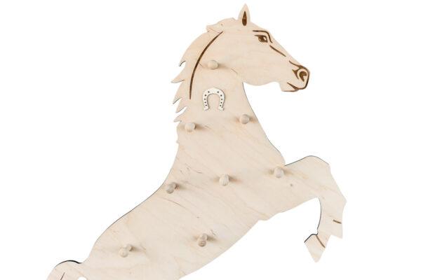 Wieszak ścienny w kształcie konia
