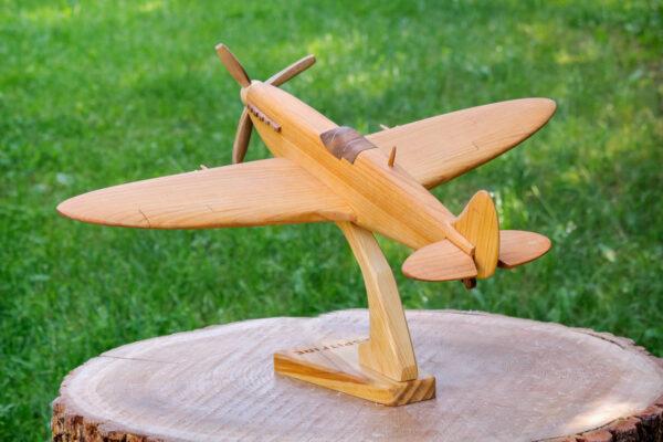 "Duży model samolotu ""Supermarine Spitfire"""