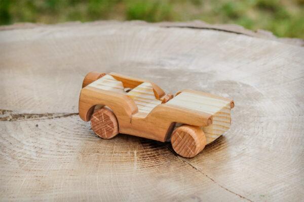 """Drewniane autko """"Willys"""""""