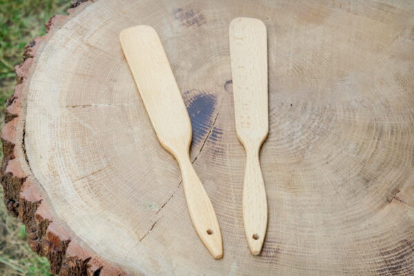 Drewniana łyżka do butów