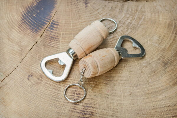 Breloczek do kluczy, otwieracz do butelek
