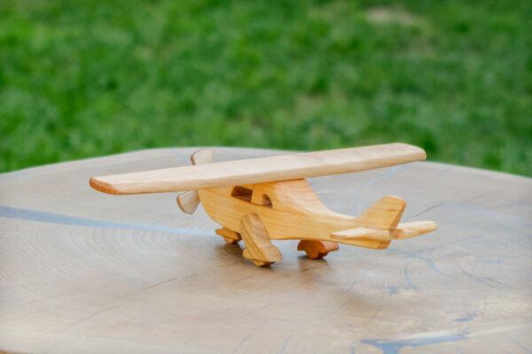 Awionetka, samolot z drewna